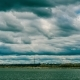 Landscape Dark Rainy Clouds Moving Fast - VideoHive Item for Sale