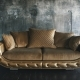 Luxury Golden Sofa on a Loft Background - VideoHive Item for Sale