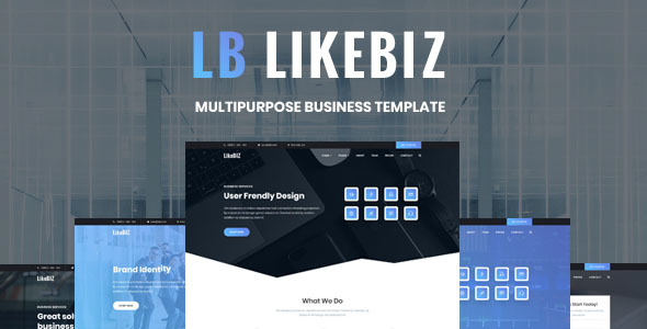 Image of LikeBiz - Business and Corporate HTML Template
