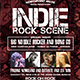 Indie Rock Scene Flyer - GraphicRiver Item for Sale