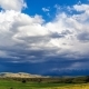 Rain Clouds Over the Fields of Wheat - VideoHive Item for Sale