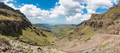 The hairpin bends in the Sani Pass - PhotoDune Item for Sale