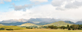 Panoramic view of the Drakensberg at Garden Castle - PhotoDune Item for Sale