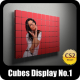 Cubes Display No.1 - GraphicRiver Item for Sale