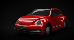 Newbeetle Car Modeling