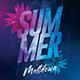 Summer Meltdown Party Flyer - GraphicRiver Item for Sale