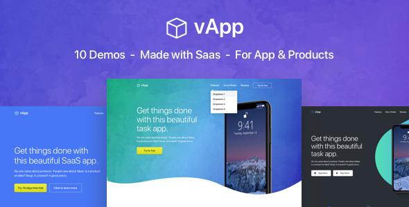 Image of vApp | App Landing Page