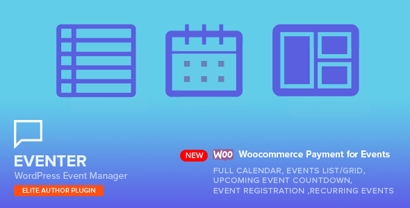 Eventer - WordPress Event Manager Plugin - CodeCanyon Item for Sale