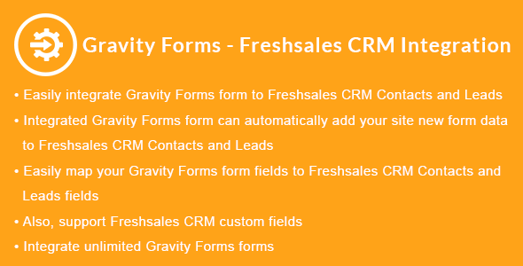Gravity Forms - Freshsales CRM Integration            Nulled