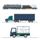 Land Freight of Goods - GraphicRiver Item for Sale