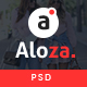 Aloza - Creative Multi-Purpose eCommerce PSD Template - ThemeForest Item for Sale