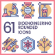 Biotechnology Icons - GraphicRiver Item for Sale