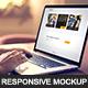 Website Responsive Mockup Scene Creator