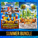 Summer Bundle V3 - GraphicRiver Item for Sale