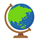 Spinning Earth Globe - VideoHive Item for Sale