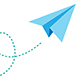 Flying Paper Plane - VideoHive Item for Sale