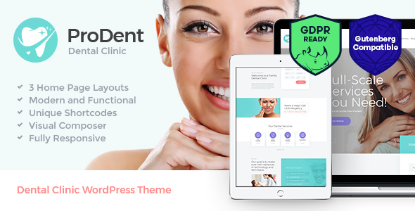 ProDent | Dental Clinic & Healthcare WordPress Theme - Health & Beauty Retail