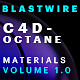 BlastWire Octane Materials Vol1 - 3DOcean Item for Sale