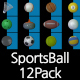 Sports Ball Pack - VideoHive Item for Sale