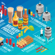 Brewery Isometric Infographic - GraphicRiver Item for Sale