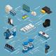 Tire Production Isometric Flowchart
