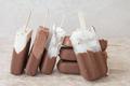 Chocolate ice cream popsicles - PhotoDune Item for Sale