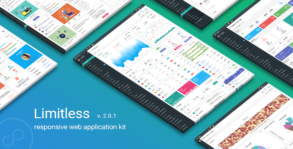 Image of Limitless - Responsive Web Application Kit