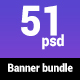 Banner Bundle (Travel, Bank, Car) - GraphicRiver Item for Sale
