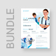 Flyer – Medical and Health Bundle 3 in 1 - GraphicRiver Item for Sale