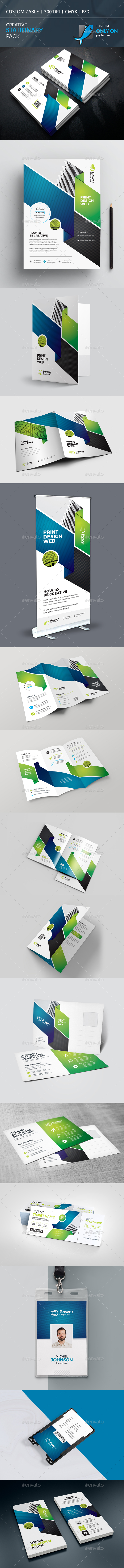 Business Stationary Pack - Stationery Print Templates