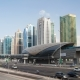 Dubai Marina Jumeirah Lakes Towers Traffic Dubai - VideoHive Item for Sale