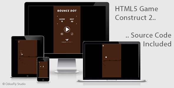 Bounce Dot - HTML5 Game (Construct 2)            Nulled