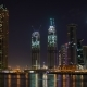 Business Bay Dubai Night - VideoHive Item for Sale