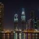 Business Bay Dubai Night - VideoHive Item for Sale