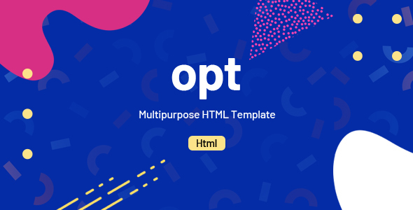 Image of Opt - Multipurpose HTML Template