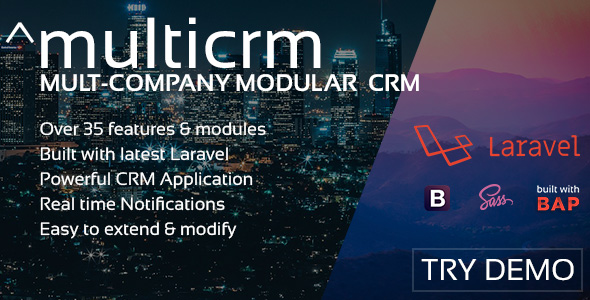 ^multicrm - Multi-Company Laravel CRM            Nulled