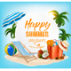 Summer Vacation Concept Background - GraphicRiver Item for Sale