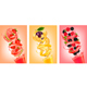 Set of Labels of Fruit in Juice Splashes - GraphicRiver Item for Sale