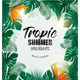 Summer Holiday Background With Tropical Plants - GraphicRiver Item for Sale