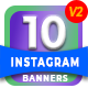 10 Multipurpose Instagram Template V2 - AR