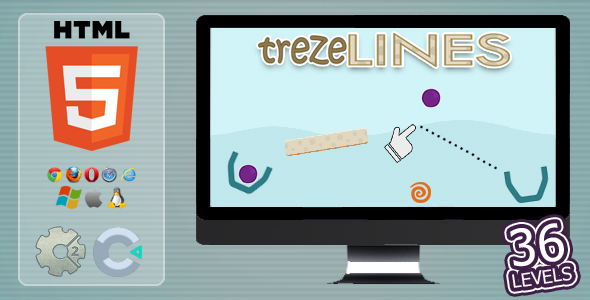 trezeLines - HTML5 Casual Game            Nulled