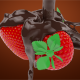 Chocolate With Strawberries - VideoHive Item for Sale