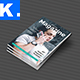 Indesign Magazine Template 10 - GraphicRiver Item for Sale