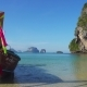 Long Tail Boat on Tropical Beach, Thailand - VideoHive Item for Sale