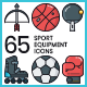 Sports Icons - GraphicRiver Item for Sale