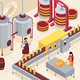 Wine Manufacturing Isometric Illustration - GraphicRiver Item for Sale