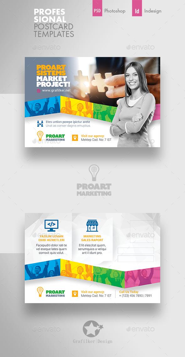 Marketing Postcard Templates - Cards & Invites Print Templates