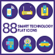 Technology Flat Icons - GraphicRiver Item for Sale