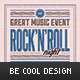 Rock'n'Roll Flyer/Poster - GraphicRiver Item for Sale