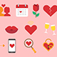 16 Dating Icons - VideoHive Item for Sale